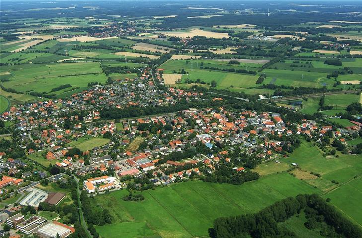 Luftbild Langwedel