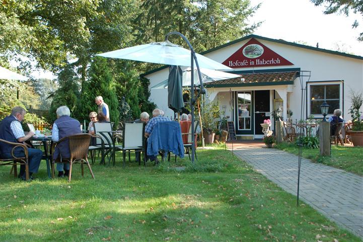 Das Hofcafé in Haberloh