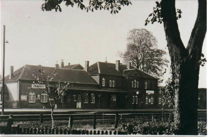 Das alte Bahnhofgebäude in Langwedel