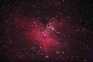 Adlernebel (M 16) im Sternbild Schlange