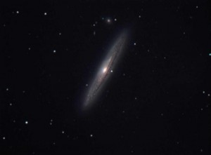 Galaxie NGC 4216 im Sternbild Jungfrau