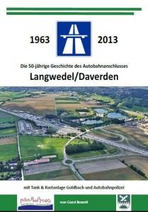 Titelblatt der Broschüre über die Autobahn in Langwedel