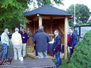 Schutzhütte am Weserradweg