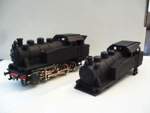 Die ersten Handmuster der ELNA - Lokmodelle