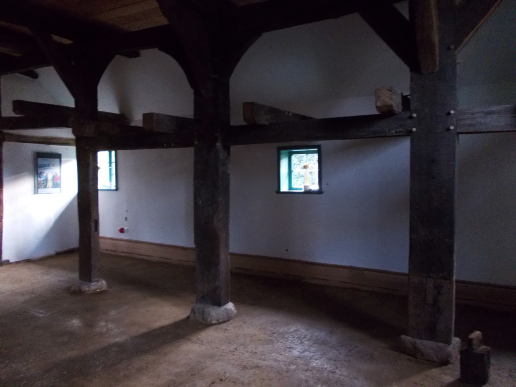 Blick in den Dielenbereich des Häuslingshauses (Foto: Langwedeler Kulturverein)