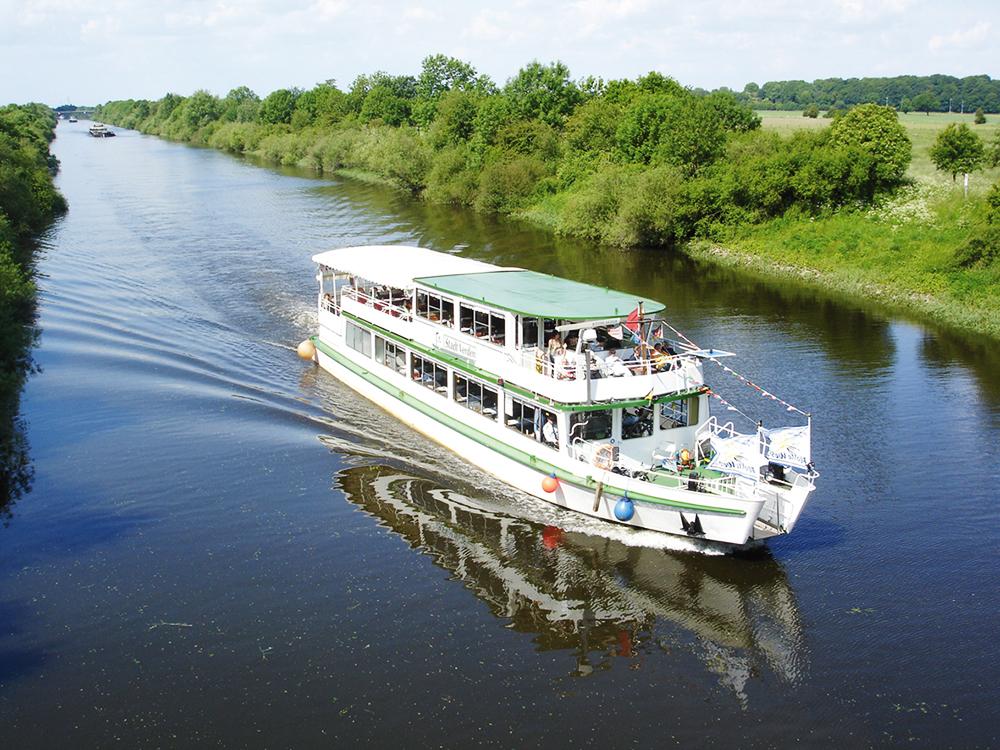 Mit der Flotte Weser von Langwedel nach Bremen