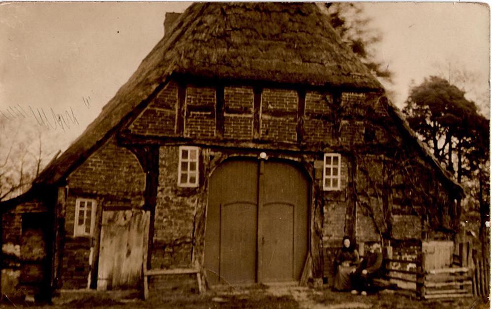 Das Häuslingshaus Langwedel um 1890