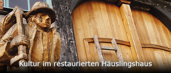 Kunst und Kultur im denkmalgeschützten Häuslingshaus Langwedel
