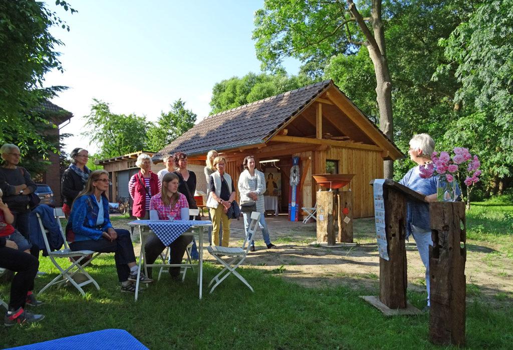 Vernissage zur Arttour 2017 im Häuslingshaus Langwedel