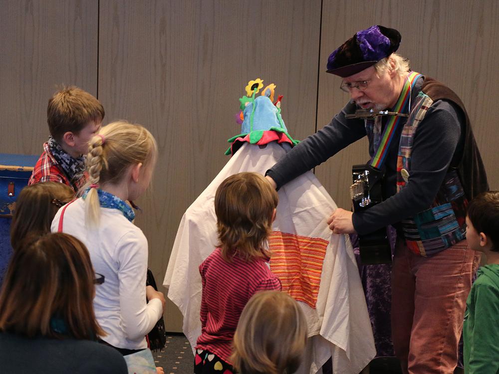 Kultur für Kinder im Rathaus Langwedel mit Werner Winkel