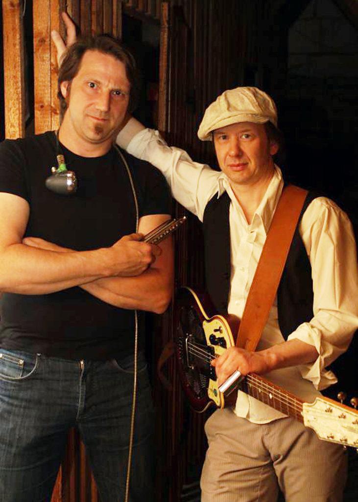 Folk & Blues: Backyard Devils im Hofcafé Haberloh