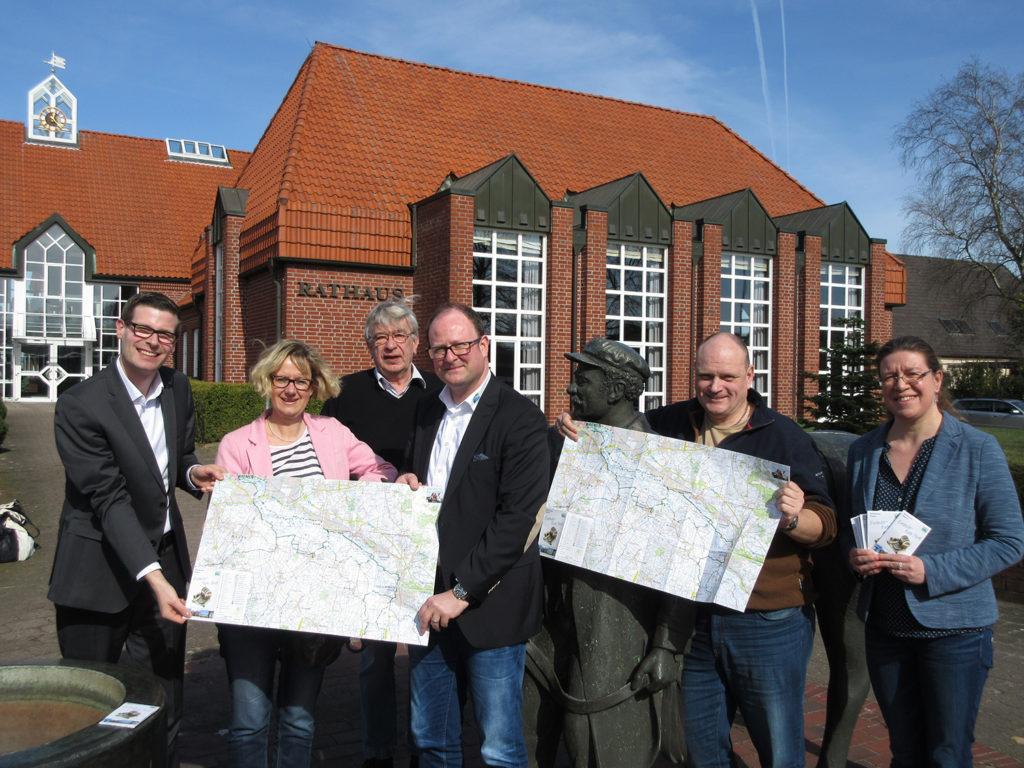 Entdeckerkarte Mittelweser-Region Nord Rathaus LAngwedel