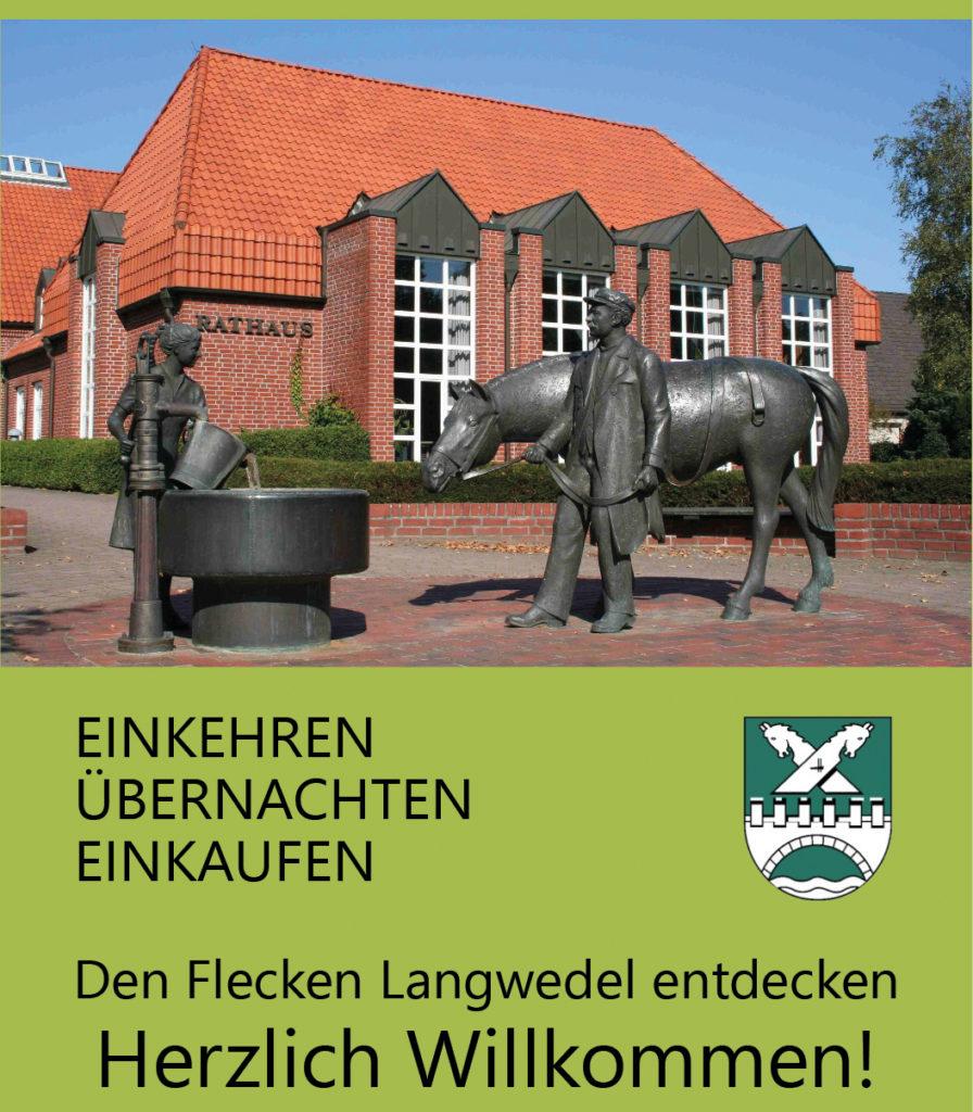 Titelbild Gastgeberbroschüre Langwedel 2017