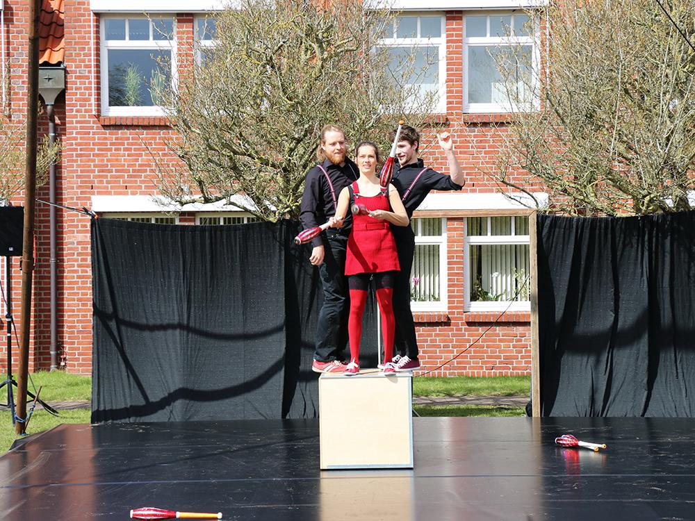 Trio Mio beim Straßenfestival in Langwedel