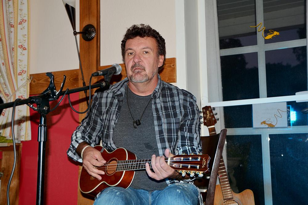 Paul Fogarty im Hofcafé Haberloh